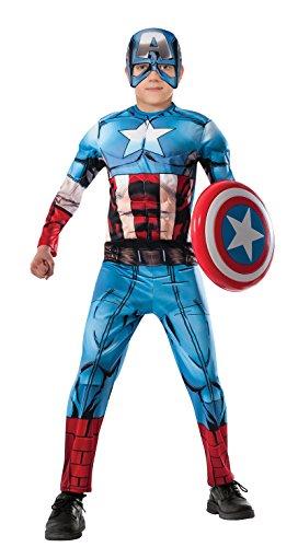 コスプレ衣装 コスチューム キャプテンアメリカ R620021 (4-6) Captain America Child Muscleコスプレ衣装 コスチューム キャプテンアメリカ