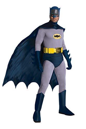 コスプレ衣装 コスチューム バットマン 887207STD Rubie's Grand Heritage Classic TV Batman Circa 1966, Blue/Gray, Standard Costumeコスプレ衣装 コスチューム バットマン 887207STD