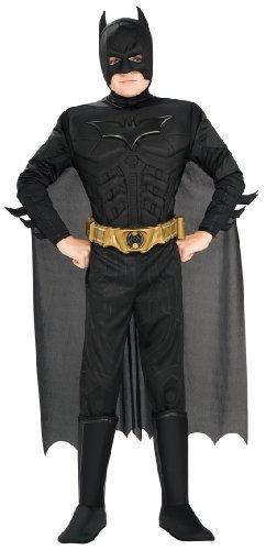 コスプレ衣装 コスチューム バットマン RUB883104SUB1TODD 【送料無料】Rubie's Costume Co Deluxe Muscle Chest Batman Costume, Toddler, Toddlerコスプレ衣装 コスチューム バットマン RUB883104SUB1TODD