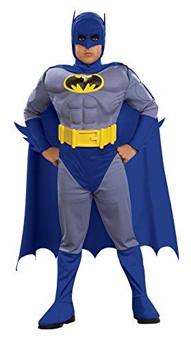 コスプレ衣装 コスチューム バットマン 883482MD Boys Batman Brave Muscle Kids Child Fancy Dress Party Halloween Costume, M (8-10)コスプレ衣装 コスチューム バットマン 883482MD