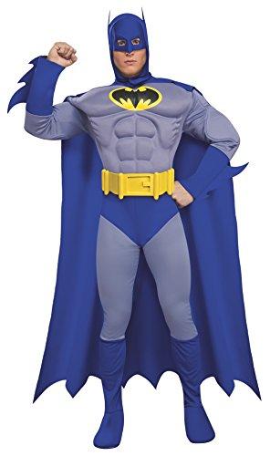 コスプレ衣装 コスチューム バットマン 889054 【送料無料】Rubie's Dc Heroes and Villains Collection Deluxe Muscle Chest Batman, Multicolored, Medium Costumeコスプレ衣装 コスチューム バットマン 889054