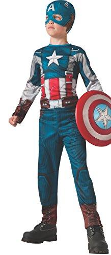 コスプレ衣装 コスチューム キャプテンアメリカ 885075_L Rubies Captain America: The Winter Soldier Retro-Style Costume, Child Largeコスプレ衣装 コスチューム キャプテンアメリカ 885075_L