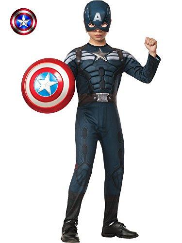 コスプレ衣装 コスチューム キャプテンアメリカ 885077_M 【送料無料】Rubies Captain America: The Winter Soldier Deluxe Stealth Suit Costume, Child Mediumコスプレ衣装 コスチューム キャプテンアメリカ 885077_M