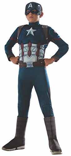 コスプレ衣装 コスチューム キャプテンアメリカ 620591_L Rubie's Costume Captain America: Civil War Deluxe Captain America Costume, Largeコスプレ衣装 コスチューム キャプテンアメリカ 620591_L