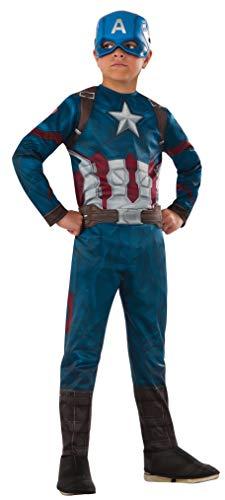 コスプレ衣装 コスチューム キャプテンアメリカ 620580_S 【送料無料】Rubie's Costume Captain America: Civil War Value Captain America Costume, Smallコスプレ衣装 コスチューム キャプテンアメリカ 620580_S