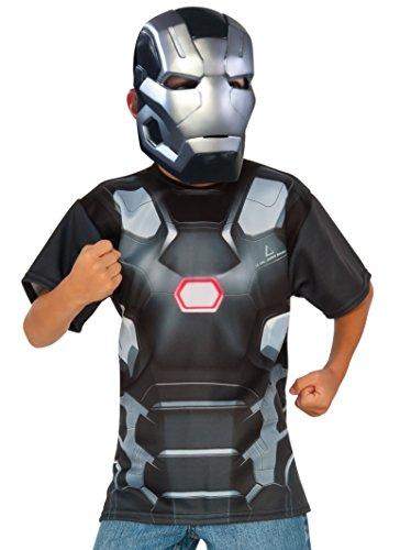 コスプレ衣装 コスチューム キャプテンアメリカ 620723_M Rubie's Costume Captain America: Civil War - War Machine Child Top and Mask, Mediumコスプレ衣装 コスチューム キャプテンアメリカ 620723_M