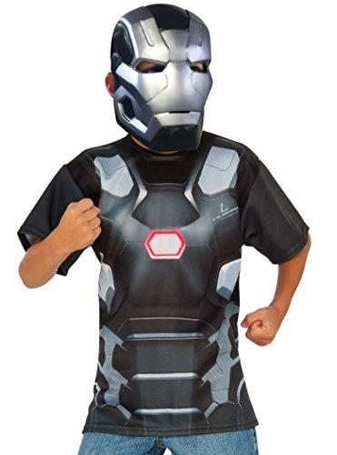 コスプレ衣装 コスチューム キャプテンアメリカ 620723_L Rubie's Costume Captain America: Civil War - War Machine Child Top and Mask, Largeコスプレ衣装 コスチューム キャプテンアメリカ 620723_L