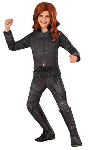 コスプレ衣装 コスチューム キャプテンアメリカ 620590_L 【送料無料】Rubie's Costume Captain America: Civil War Black Widow Child Costume, Largeコスプレ衣装 コスチューム キャプテンアメリカ 620590_L