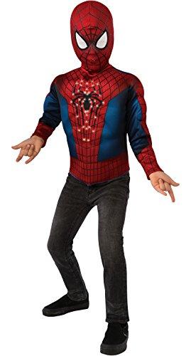 コスプレ衣装 コスチューム スパイダーマン 620042_STD 【送料無料】The Amazing Spider-man 2, Spider-man Light-Up Costume Top and Mask, Child Standardコスプレ衣装 コスチューム スパイダーマン 620042_STD