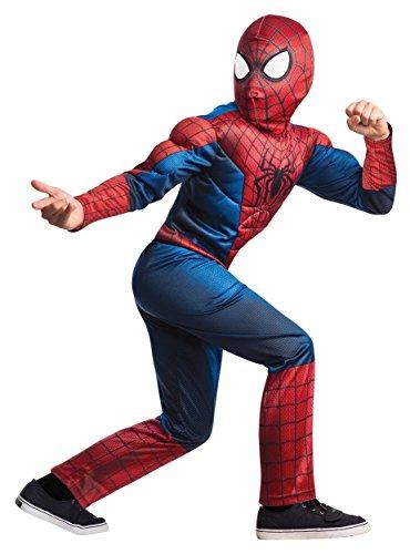 コスプレ衣装 コスチューム スパイダーマン Deluxe Spider-Man Costume - Largeコスプレ衣装 コスチューム スパイダーマン