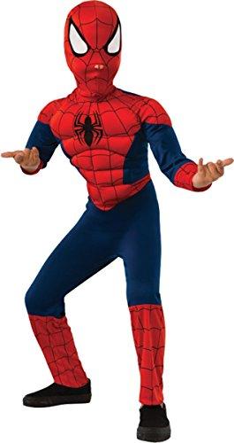 コスプレ衣装 コスチューム スパイダーマン Rubie's Spiderman Muscle Child Smallコスプレ衣装 コスチューム スパイダーマン
