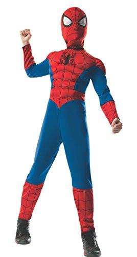 コスプレ衣装 コスチューム スパイダーマン 880799_S 【送料無料】Rubie's Marvel Ultimate Spider-Man 2-in-1 Reversible Spider-Man / Venom Muscle Chest Costume, Child Small - Small One Colorコスプレ衣装 コスチューム スパイダーマン 880799_S