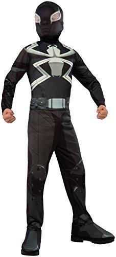 コスプレ衣装 コスチューム スパイダーマン 610872_S Rubie's Costume Spider-Man Ultimate Child Agent Venom Costume, Smallコスプレ衣装 コスチューム スパイダーマン 610872_S