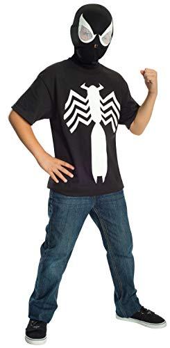 コスプレ衣装 コスチューム スパイダーマン 883270_L Rubie's Ultimate Black Spider-man / Venom T-shirt and Mask, Child Large - Child Large One Colorコスプレ衣装 コスチューム スパイダーマン 883270_L