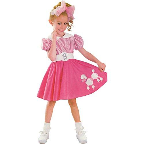 コスプレ衣装 コスチューム バービー人形 Child's Toddler Bobby Sox Barbie Costume (Sz:2-4T)コスプレ衣装 コスチューム バービー人形