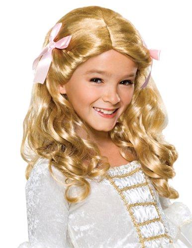コスプレ衣装 コスチューム その他 51412 Rubie's Gracious Princess Child's Costume Wig, Blondeコスプレ衣装 コスチューム その他 51412