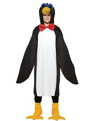 コスプレ衣装 コスチューム その他 606 【送料無料】Penguin with Red Bow Tie Teen Kids size 13-16 Costumeコスプレ衣装 コスチューム その他 606