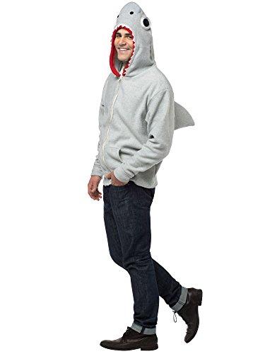 コスプレ衣装 コスチューム その他 Shark Hoodie Costume - Small - Chest Size 35-38コスプレ衣装 コスチューム その他