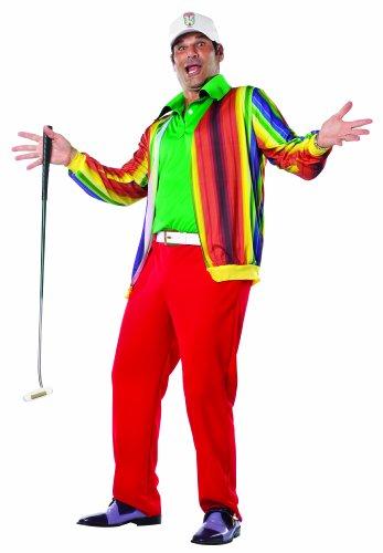 コスプレ衣装 コスチューム その他 4681 Rasta Imposta Caddyshack Al Czervik Costume, Multi-Colored, One Sizeコスプレ衣装 コスチューム その他 4681