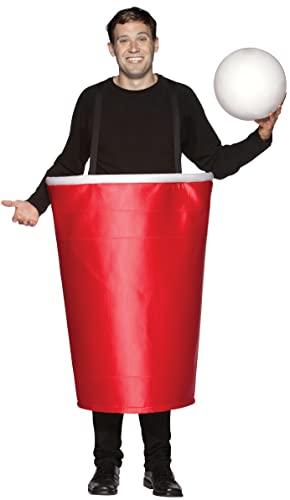 コスプレ衣装 コスチューム その他 6029 Rasta Imposta Beer Pong Cup Costume, Red, One Sizeコスプレ衣装 コスチューム その他 6029