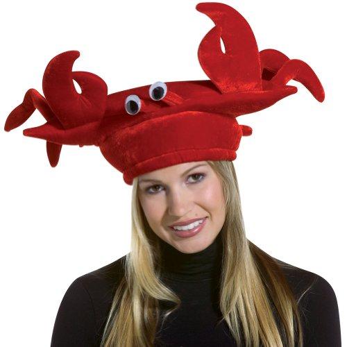 コスプレ衣装 コスチューム その他 2068 Rasta Imposta Crab Hat Velvet, Red, One Sizeコスプレ衣装 コスチューム その他 2068