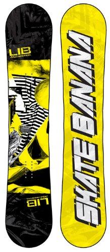 スノーボード ウィンタースポーツ リブテック 2017年モデル2018年モデル多数 【送料無料】Lib Tech Skate Banana Wide Snowboard Yellow 153スノーボード ウィンタースポーツ リブテック 2017年モデル2018年モデル多数