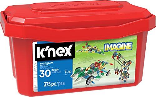 ケネックス 知育玩具 パズル ブロック 13597 K'NEX - Deluxe Building Set 375 Pieces for Ages 7+ Construction Education Toyケネックス 知育玩具 パズル ブロック 13597