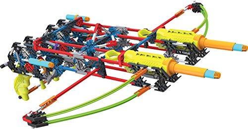 ケネックス 知育玩具 パズル ブロック 47526 K'NEX K-FORCE Build and Blast ? Dual Cross Building Set ? 368 Pieces ? Ages 8+ ? Engineering Education Toyケネックス 知育玩具 パズル ブロック 47526