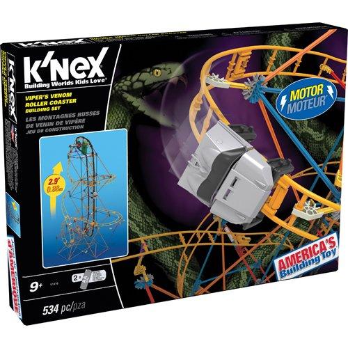 ケネックス 知育玩具 パズル ブロック 51416 K'NEX Viper's Venom Roller Coaster Building Setケネックス 知育玩具 パズル ブロック 51416