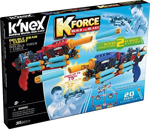 ケネックス 知育玩具 パズル ブロック 47556 K'NEX K-Force ? Double Draw Building Set and Target ? 365 Pieces ? Ages 8+ Engineering Educational Toyケネックス 知育玩具 パズル ブロック 47556
