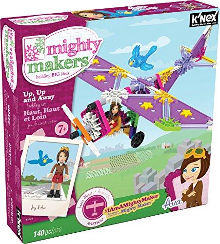 ケネックス 知育玩具 パズル ブロック 43533 K'NEX Mighty Makers - Up, Up and Away Building Setケネックス 知育玩具 パズル ブロック 43533