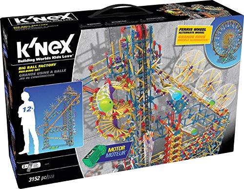 ケネックス 知育玩具 パズル ブロック 52443 K'NEX Thrill Rides ? Big Ball Factory Building Set ? 3152 Pieces ? Ages 12+ Engineering Educational Toyケネックス 知育玩具 パズル ブロック 52443