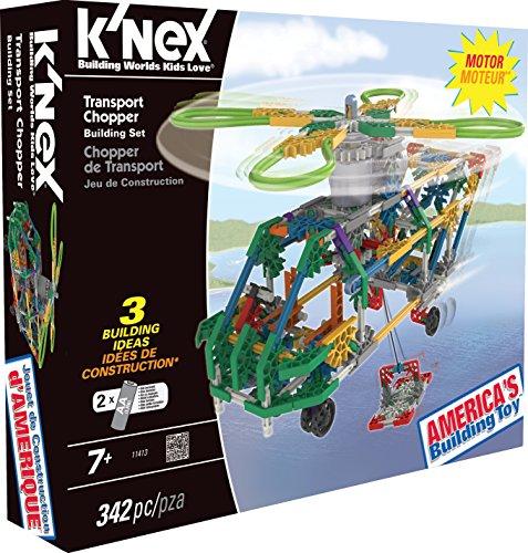 ケネックス 知育玩具 パズル ブロック 11413 K'NEX Transport Chopper Building Setケネックス 知育玩具 パズル ブロック 11413