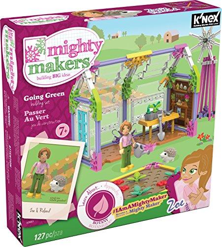 ケネックス 知育玩具 パズル ブロック 43551 K'NEX Mighty Makers Going Green Building Setケネックス 知育玩具 パズル ブロック 43551