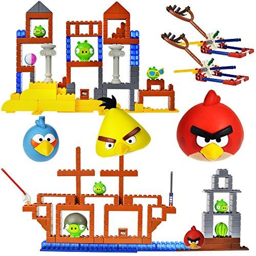 ケネックス 知育玩具 パズル ブロック K'Nex Angry Birds Grillin and Chillin & All Hams On Deck Pack with 2 Characterケネックス 知育玩具 パズル ブロック