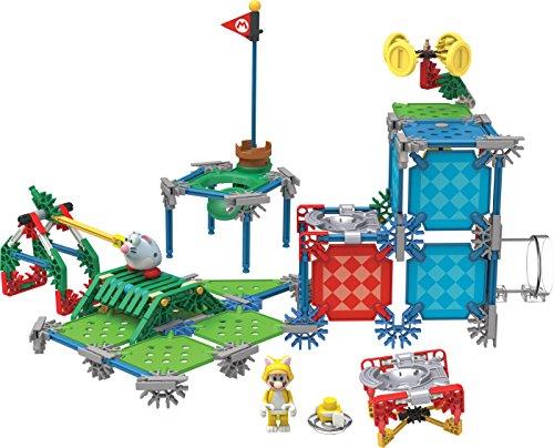 ケネックス 知育玩具 パズル ブロック 38635 【送料無料】K'nex Super Mario Cat Mario Building Setケネックス 知育玩具 パズル ブロック 38635
