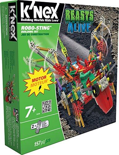 ケネックス 知育玩具 パズル ブロック 13244 【送料無料】K'NEX Beasts Alive - Robo-Sting Building Setケネックス 知育玩具 パズル ブロック 13244