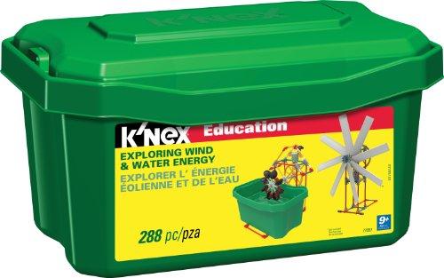 ケネックス 知育玩具 パズル ブロック 77051 K'NEX Education ? Exploring Wind and Water Energy Set ? 288 Pieces ? Ages 9+ Engineering Educational Toyケネックス 知育玩具 パズル ブロック 77051