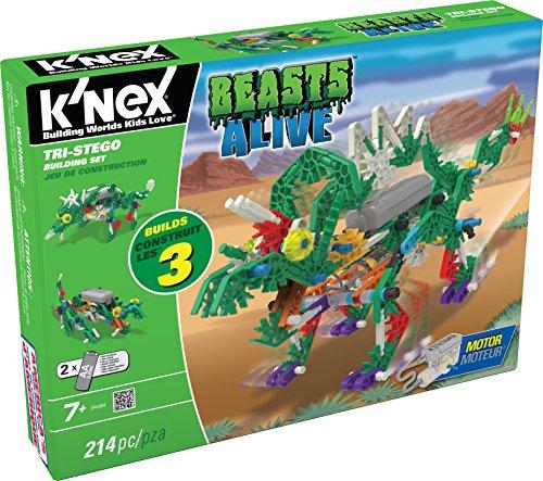 ケネックス 知育玩具 パズル ブロック 34484 K'NEX Beasts Alive ? Tri-Stego Building Set ? 214 Pieces ? Ages 7+ Engineering Educational Toyケネックス 知育玩具 パズル ブロック 34484