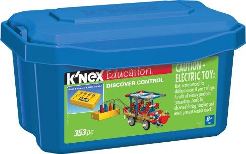 ケネックス 知育玩具 パズル ブロック 79014 K'NEX Education ? Discover Control Set ? 353 Pieces ? Ages 8+ Engineering Educational Toyケネックス 知育玩具 パズル ブロック 79014