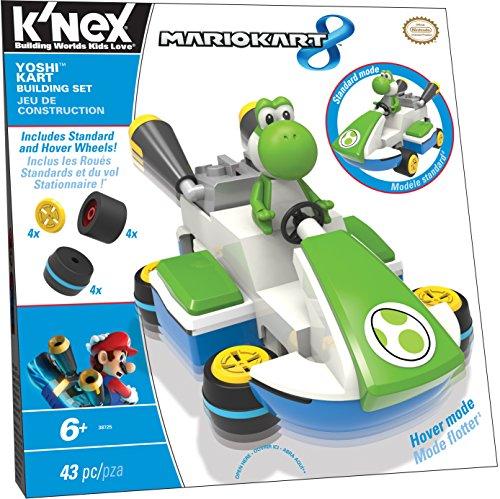 ケネックス 知育玩具 パズル ブロック 38725 K'NEX Mario Kart 8 - Yoshi Kart Building Setケネックス 知育玩具 パズル ブロック 38725