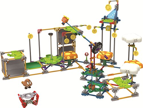 ケネックス 知育玩具 パズル ブロック 38528 K'NEX Nintendo Super Mario 3D Land Flying Cloud Building Setケネックス 知育玩具 パズル ブロック 38528