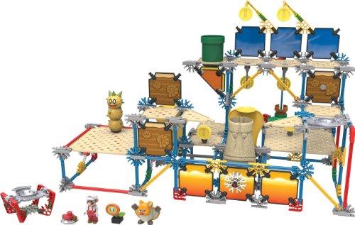ケネックス 知育玩具 パズル ブロック 38636 K'NEX Super Mario Layer Cake Desert Building Setケネックス 知育玩具 パズル ブロック 38636