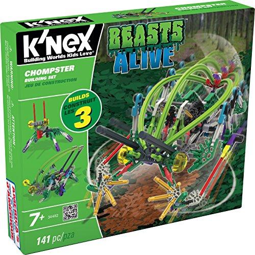 ケネックス 知育玩具 パズル ブロック 34482 K'NEX Beasts Alive - Chompster Building Setケネックス 知育玩具 パズル ブロック 34482