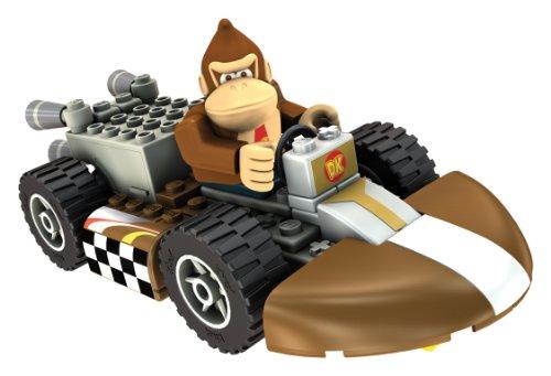 ケネックス 知育玩具 パズル ブロック 33127D Nintendo Donkey Kong and Standard Kart Building Setケネックス 知育玩具 パズル ブロック 33127D