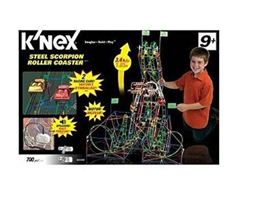 ケネックス 知育玩具 パズル ブロック 51485 K'NEX Steel Scorpion Roller Coasterケネックス 知育玩具 パズル ブロック 51485