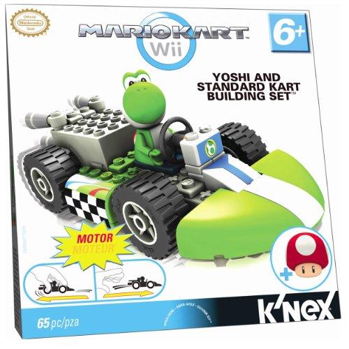 ケネックス 知育玩具 パズル ブロック 38004 Nintendo Yoshi and Standard Kart Building Setケネックス 知育玩具 パズル ブロック 38004