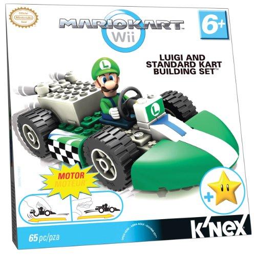 ケネックス 知育玩具 パズル ブロック 38005 Nintendo Luigi and Standard Kart Building Setケネックス 知育玩具 パズル ブロック 38005