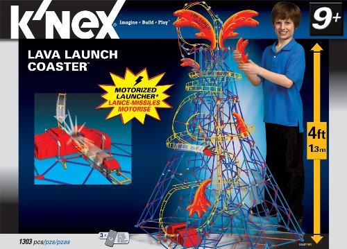 ケネックス 知育玩具 パズル ブロック 50050 K'Nex Lava Launch Coasterケネックス 知育玩具 パズル ブロック 50050