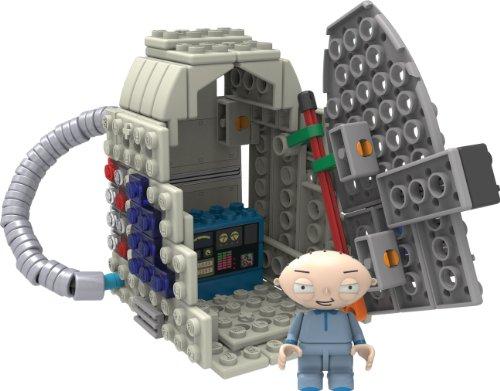 ケネックス 知育玩具 パズル ブロック 44043 K'nex Family Guy-Stewie and Time Machine Building Setケネックス 知育玩具 パズル ブロック 44043